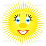 Imágenes Del Sol Para Niños En Caricaturas Infantiles