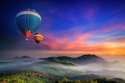 imagenes hermosas del mundo globos