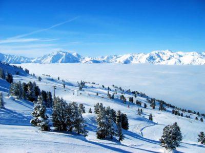 paisajes naturales del mundo reales nieve