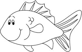 imagenes de animales acuáticos  para pintar pez