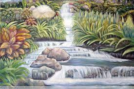 imagenes de cascadas de agua para dibujar