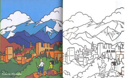 imagenes de la sierra nevada de santa marta para colorear dibujos