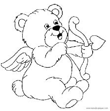 imagenes de osos para colorear romanticas
