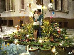 imagenes hermosas de paisajes romanticos