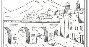 paisajes de colombia para colorear y dibujar