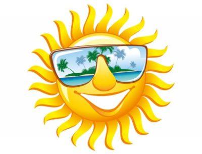 Dibujos animados del sol con movimiento para descargar - Emoticono gafas de sol ...