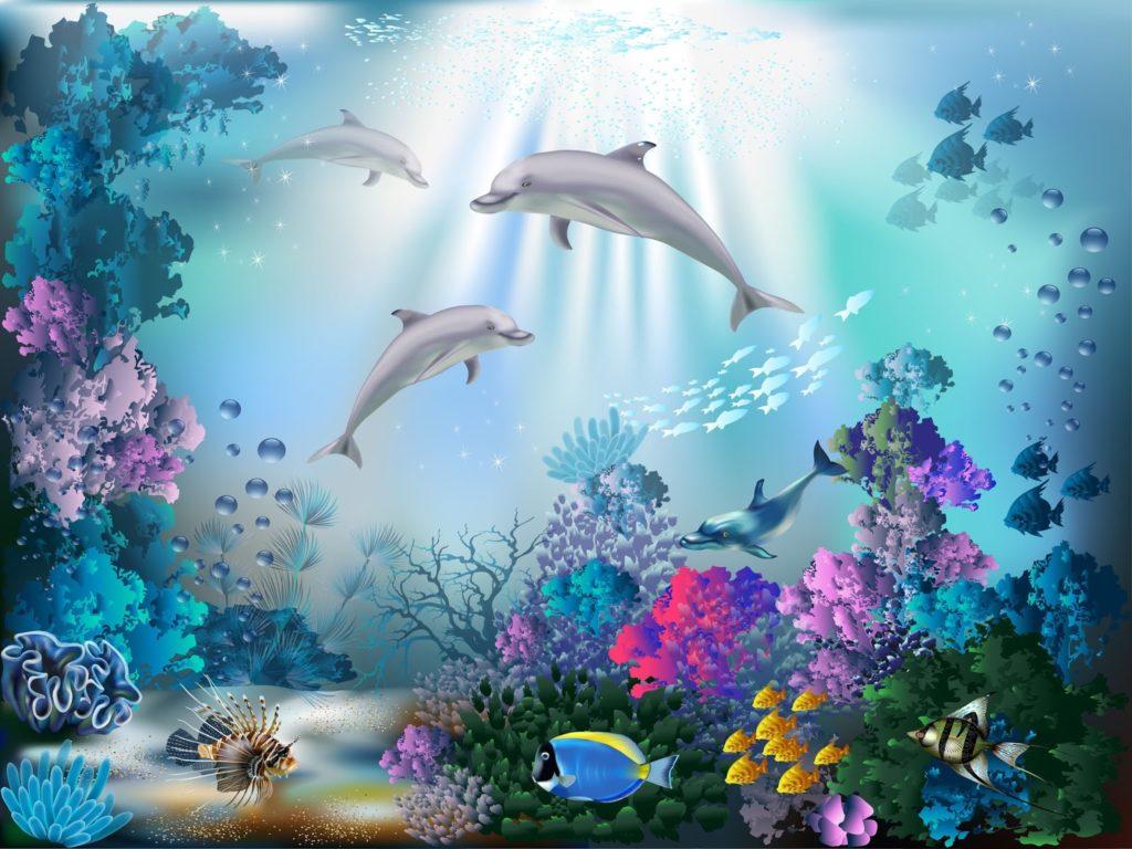 Fondos De Pantalla Del Mar: Hermosos Fondos De Pantalla De Arrecifes De Coral