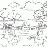 Dibujos De La Sierra Para Colorear Paisajes Dibujados