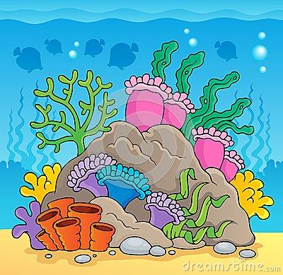 Hermosas Imágenes De Arrecifes De Coral Para Colorear Facil  