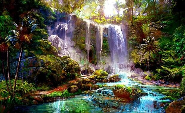 Im genes de cascadas hermosas para fondo de pantalla - Los cuadros mas bonitos ...