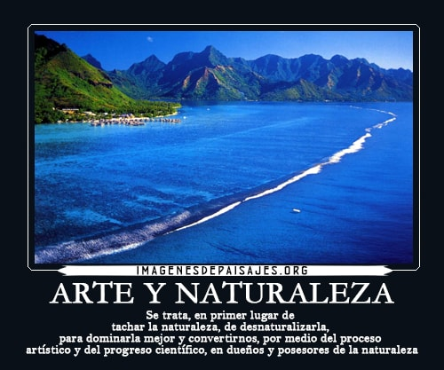 paisajes naturales con frases para reflexionar