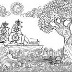 fantásticas imágenes de paisajes para dibujar y pintar fácil
