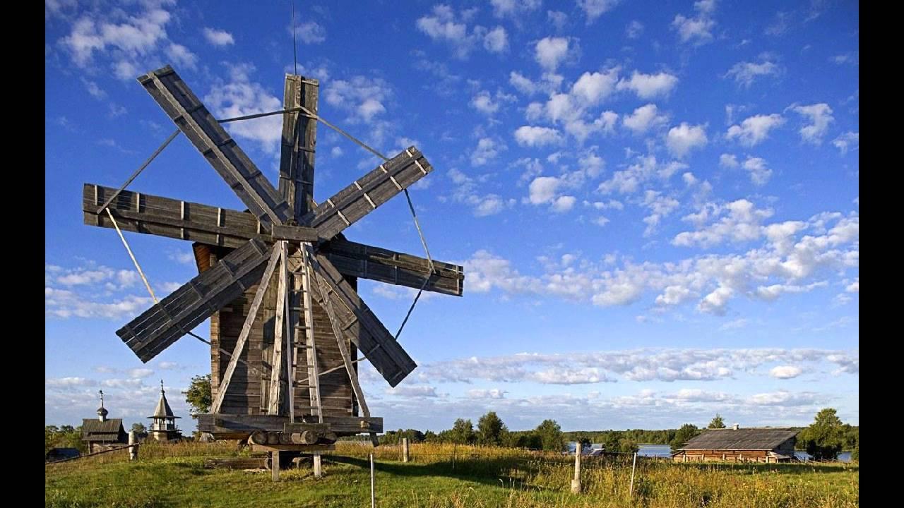 paisajes rusia molino de viento