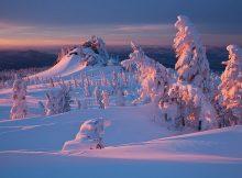 paisajes rusia nieve