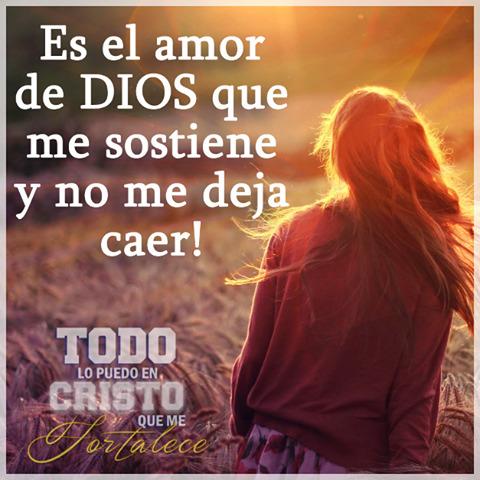 El amor de Dios me sostiene