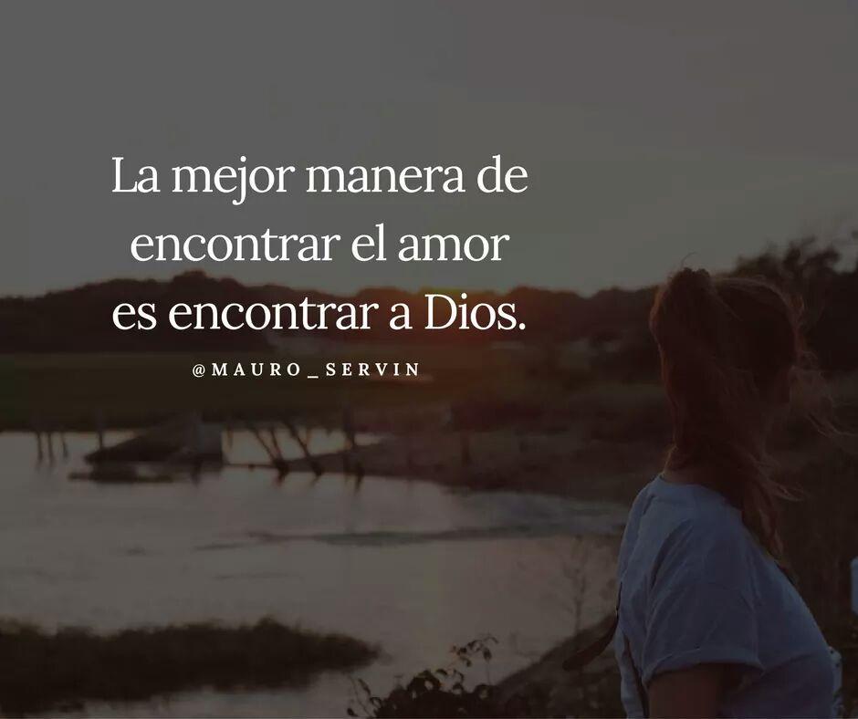 La mejor forma de amar es a través de Dios