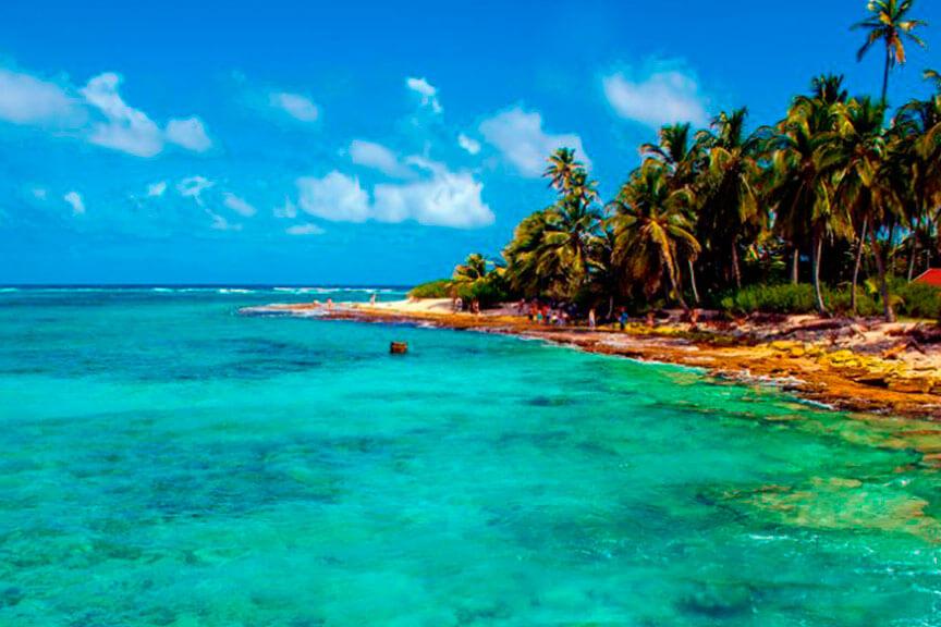 playas naturales en san andres i