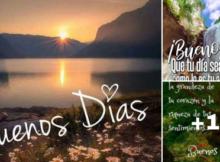 tarjetas de buenos dias y paisajes